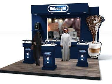 Delonghi Coffee machines Exhibition