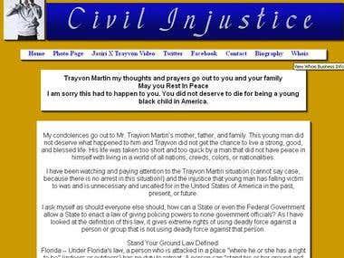 Civil Injustice Website