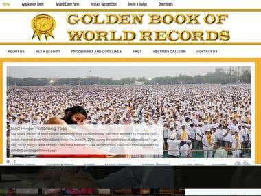 Golden book of world records