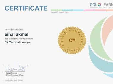C# Basic Certificate