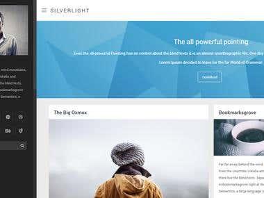 Silverlight - Responsive Masonry Theme