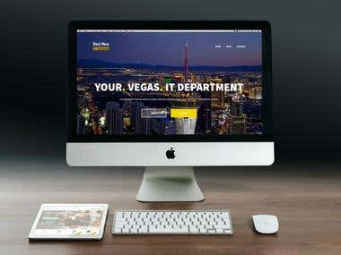 Technology Business Website Design