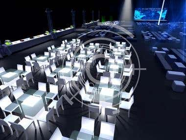 EVENT DESIGN - VIRTUAL SCENE RENDERING