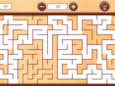 Maze 360 for WP7 (Both Coding and Graphics Done by me)