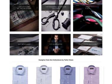 TailorStore (E-commerce)