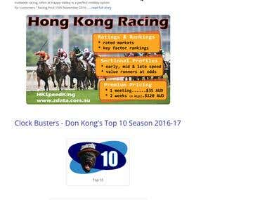 HK Speed King Result Show Web Apps -- http://zdata.com.au