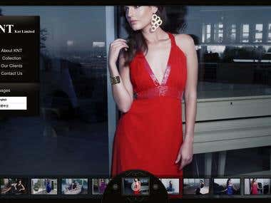 Fashion Web Application -- http://www.knt.com.hk