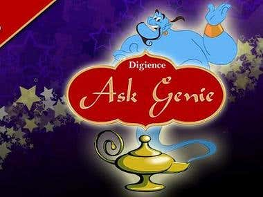 Ask Genie for Android (Designing and Coding Done by me)