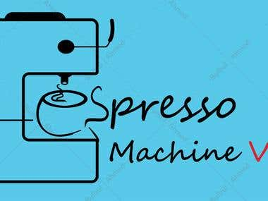 Espresso Machine Logo Design
