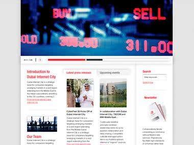 Dubai Internet City - Website