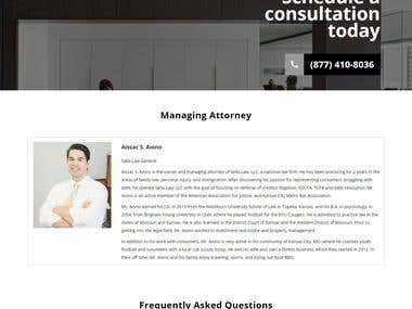Siela Law Website