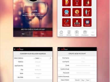 App Mockup [ Page Design in HTML & PSD ]