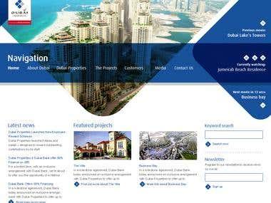 Dubai Properties Website