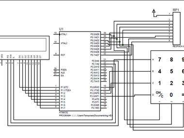 Calculator Using 8052 Microcontroller