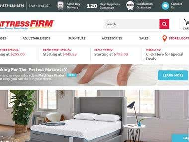 MattressFirm.com - the largest mattress retailer in the US