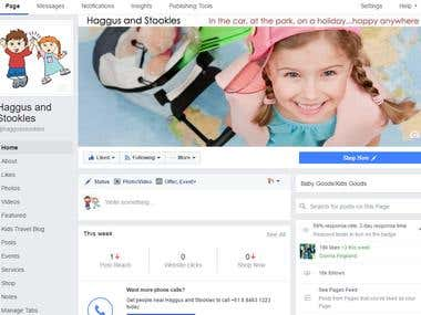 Haggus and Stookles fb marketing and engagement