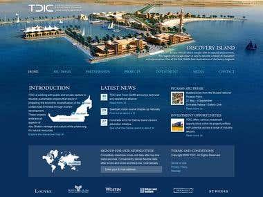 TDIC - Website