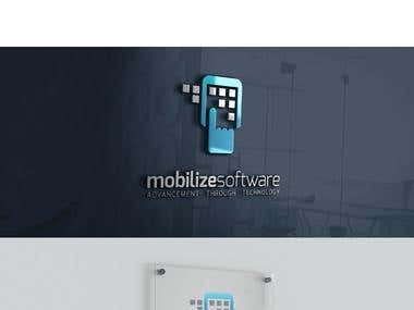 Mobilizesoftware branding and web design