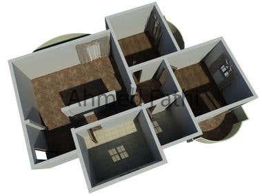 interior Design for a small flat