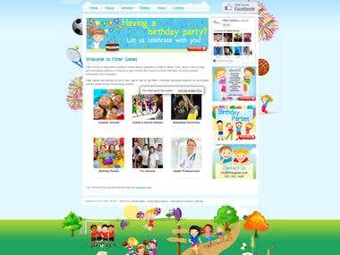 Childrens Sports Website