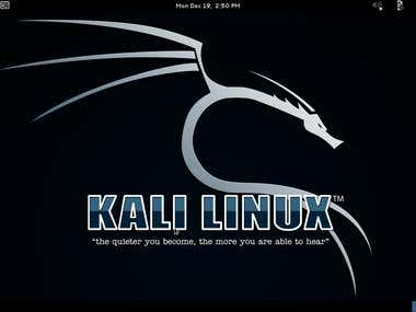 PEN TEST using Kali Linux