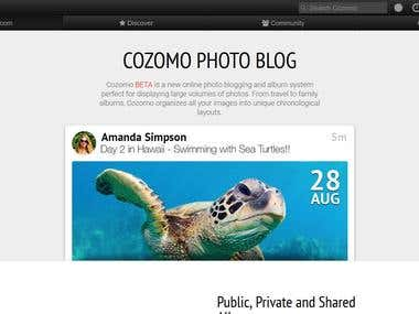 Cozomo Social Network