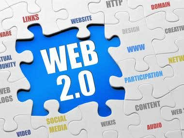 Web 2.0 Service for your website