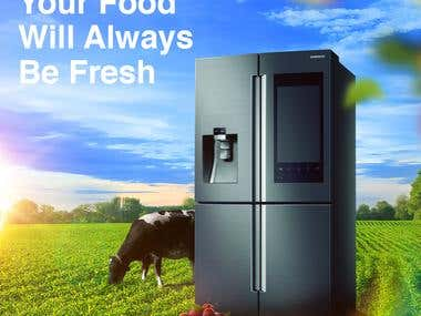 Samsung - Your Food Will Always Be Fresh