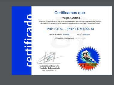Sistema de Certificado