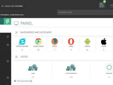 Painel CMS
