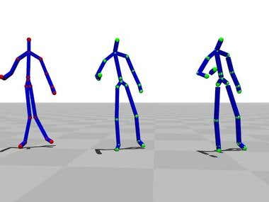 Avateering using Kinect 2 and Vitruvius using unity 3D