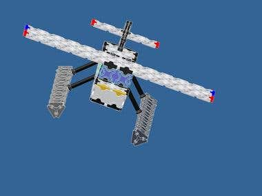 3d Toy Plane Design