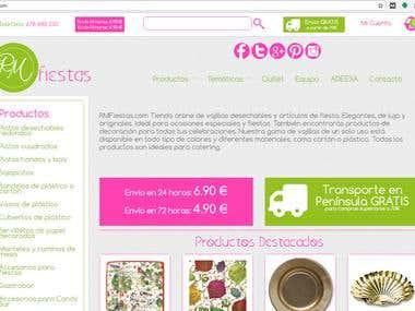 SEO y Adwords rmfiestas.com