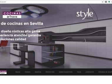 SEO de cocinasartnova.com