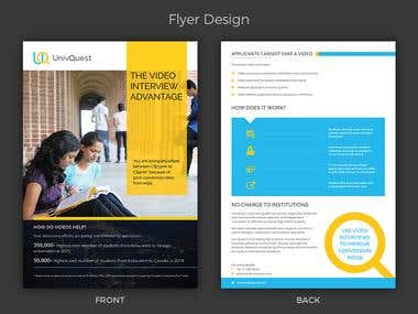 Univquest Flyer Design