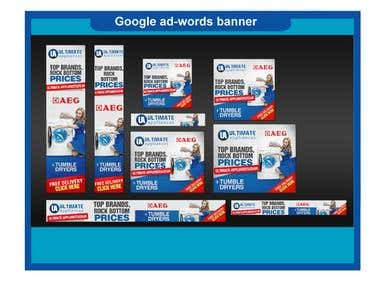 Google ad-words banner
