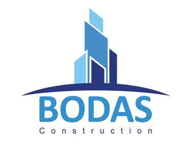 BODAS CONSTRUCTION Logo Design