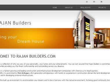 Rajan Builders Website