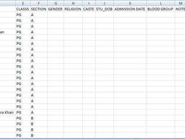 Excel to Database Upload