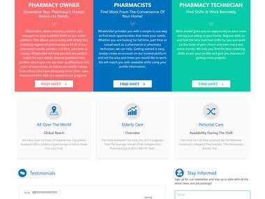 WEB APPLICATION FOR PHARMACY OWNERS