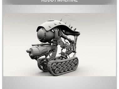 3d robot machine