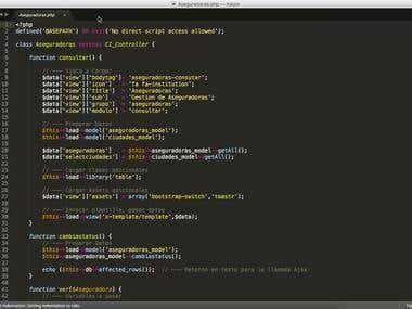 Application Dvelopment - PHP / MySQL / JS / Ajax / jQuery
