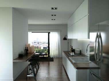 Kitchen Photo realistic