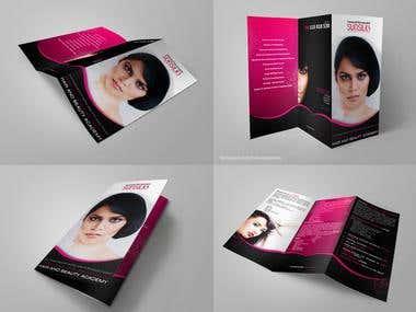 RF Academy brochure design
