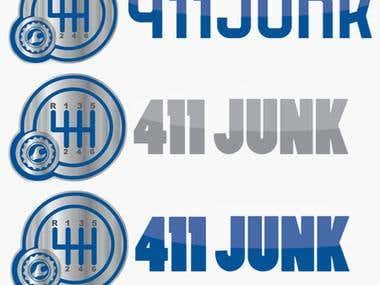 Sample logo for 411 Junk