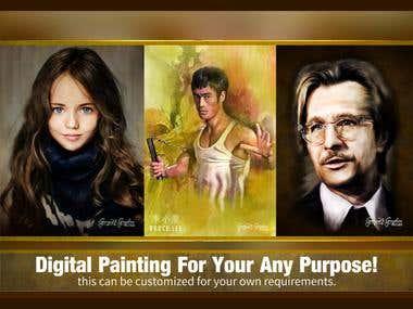 Digital Photo Painting