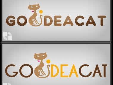 Sample logo for Go Idea Cat
