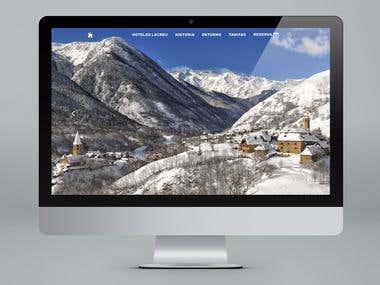 HOTELES LACREU Website