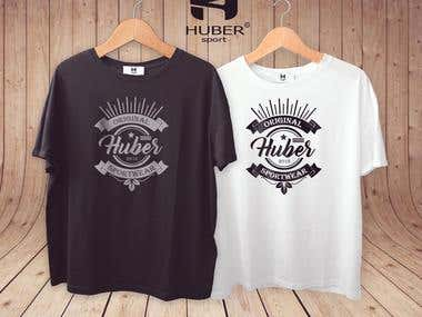 Huber t-shirt design