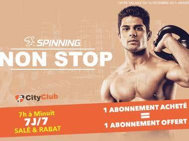 City Club Affiche